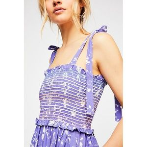 Free People Pants - FP Color My World Jumpsuit Floral Romper One-Piece